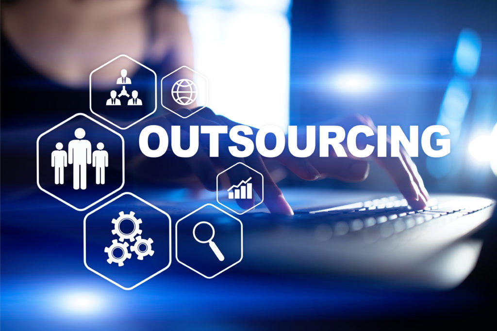 oimage representing outsourcing